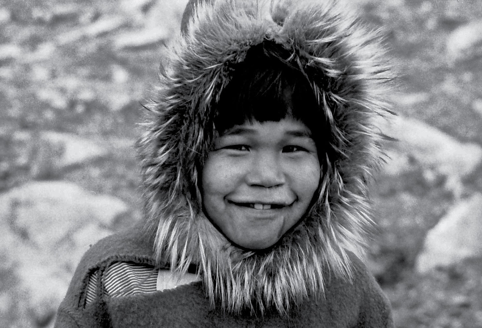 10-An-Inuit-boy,-Cape-Dorset,-Canadian-Arctic-